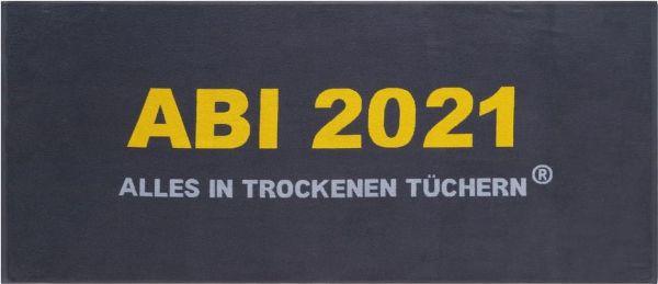 Abi Handtuch 2021 - dunkelgrau