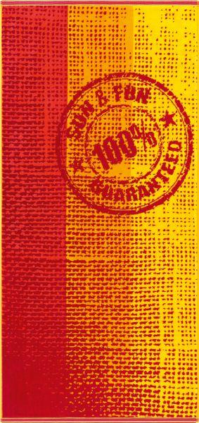 Stamp - trendiges Strandhandtuch